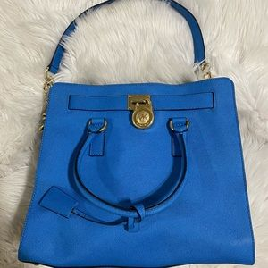 Michael Kors large blue purse